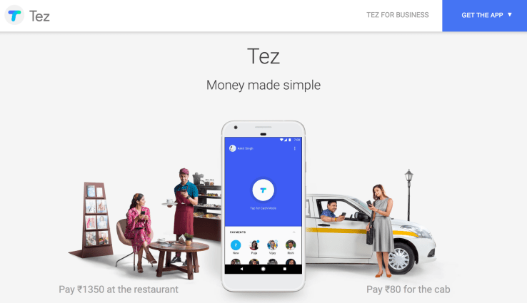 Google's UPI-based Tez payments app rolls out in India