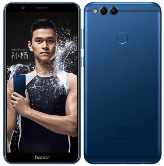 Huawei's new Honor 7X conveys A Bezeless screen To A Midrange Phone