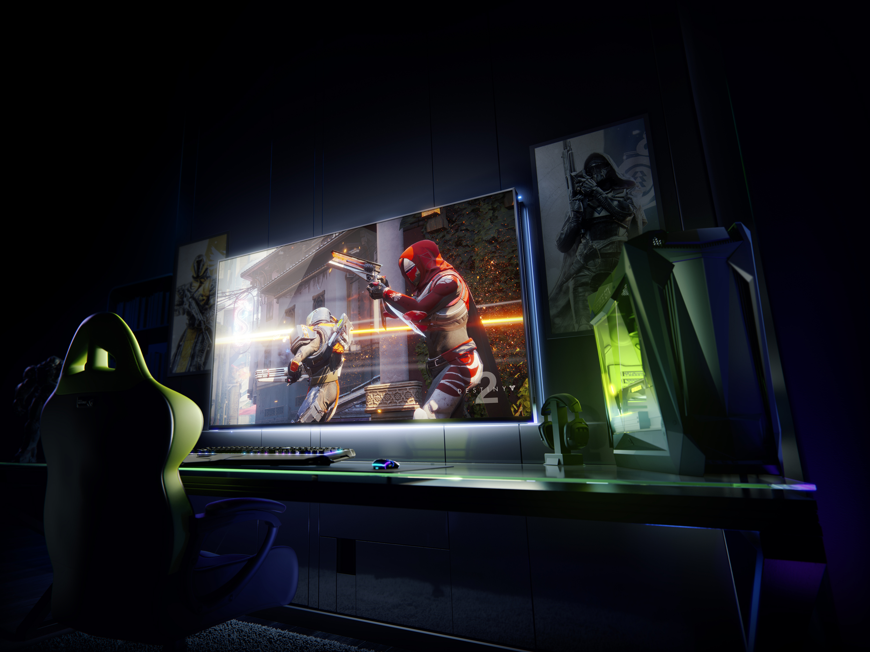 NVIDIA Introduces 65-inch 4K HDR