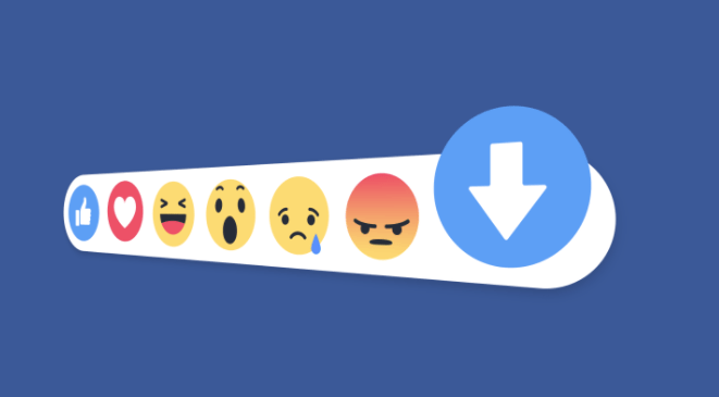 Facebook's got a new downvote button, says its not a dislike