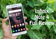 Infinix Note 4 Specifications, Price, and Features