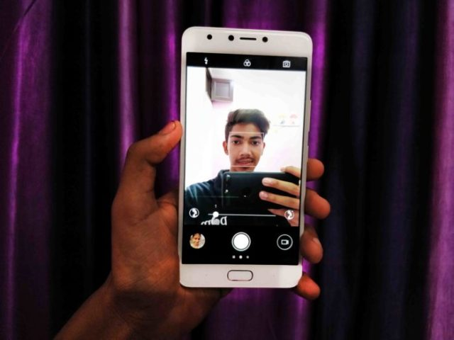 Infinix note 4 Front Camera
