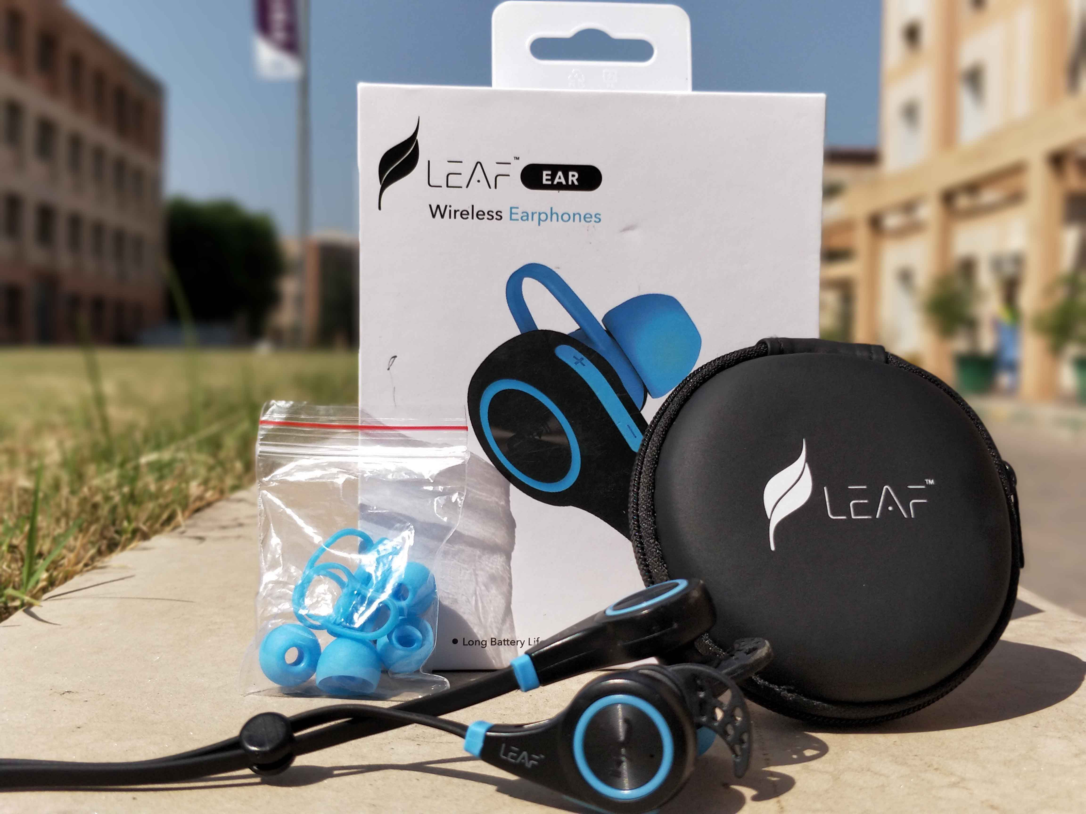 Leaf Wireless Bluetooth Earphones With Mic Review Ttg