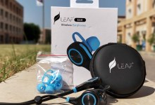 leaf wireless bluetooth earphones featured
