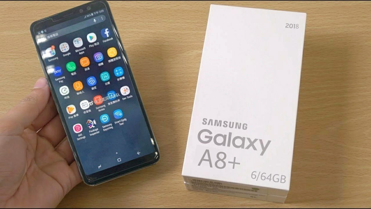 Samsung India Launches Galaxy A8+, Smartphone With An Attitude