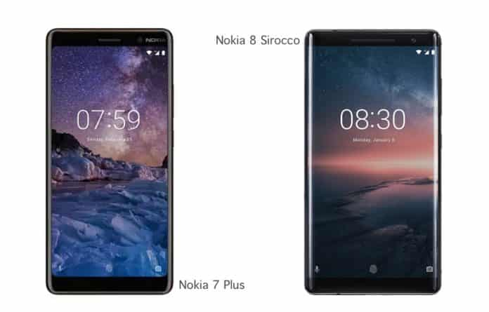 Nokia 8 Sirocco and Nokia 7 plus now available for pre-bookings in India