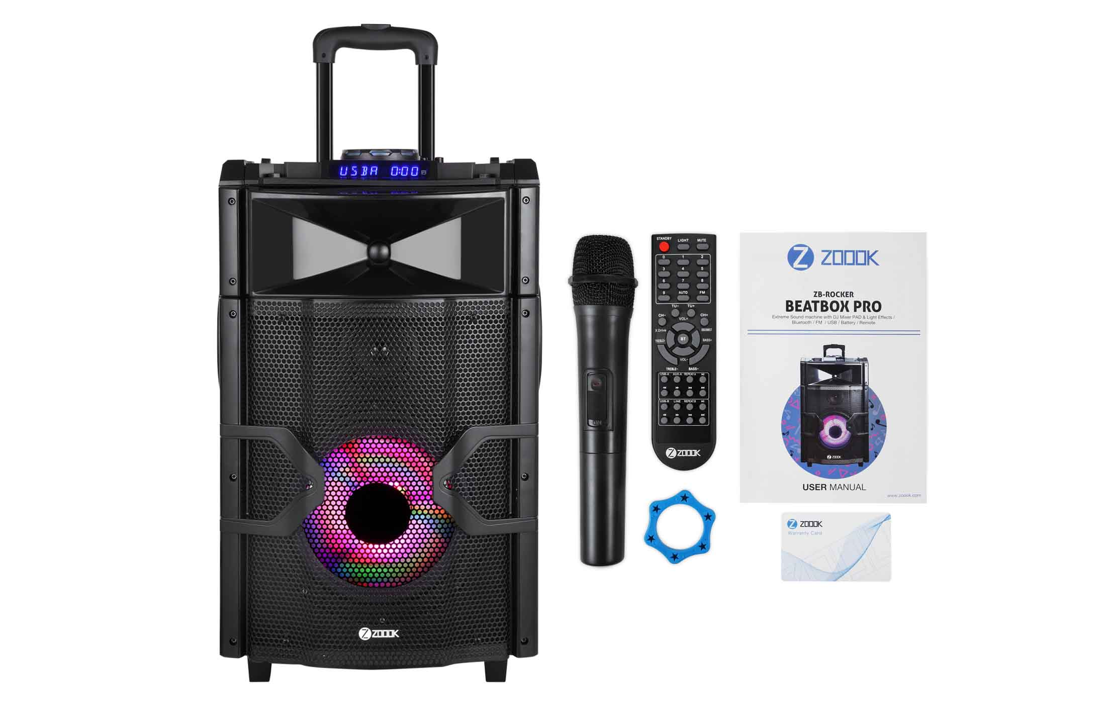 Zoook launched the Ultimate Beatbox Pro with Portable Trolley