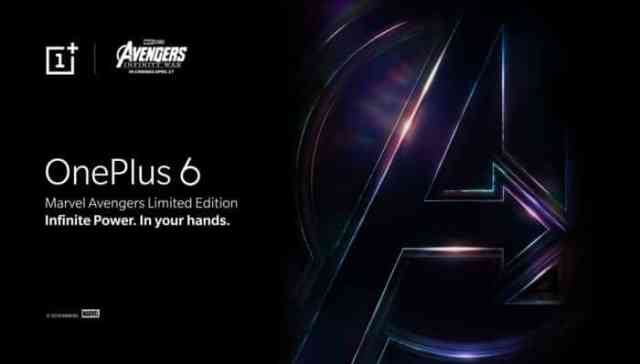 OnePlus confirms OnePlus 6 x Marvel Avengers Limited Edition with new teaser video