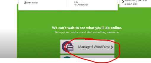 Manage WordPress from godaddy