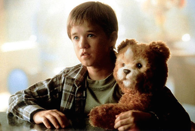 Teddy, the robotic bear in Steven Spielberg's movie AI