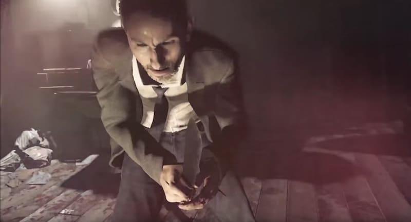 A still from the E3 teaser trailer for Resident Evil 7