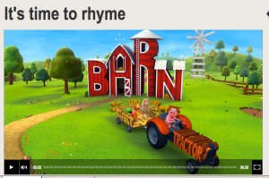 ABC Splash Rhyming