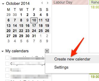 Set up Google Calendar for family use
