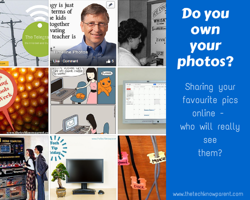 Sharing your favourite pics online - who will really see them?