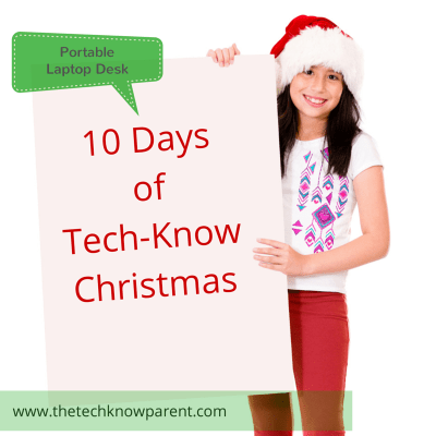laptop holder 10 days of Christmas Tech-Know