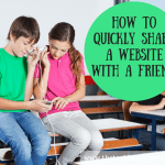 Tech-Tip Friday – sharing a webpage