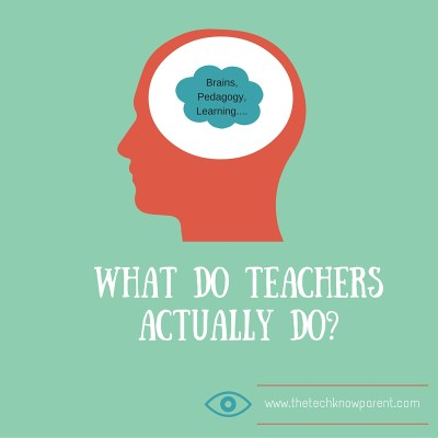 What do teachers actually do-