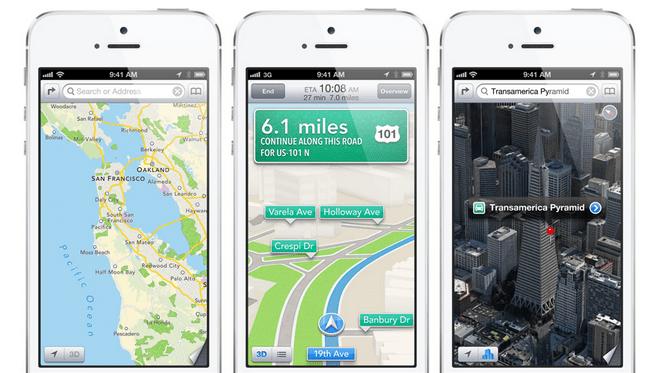 Hărți de Apple