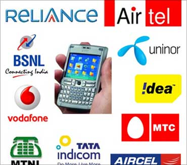 Image: Mobile services in India