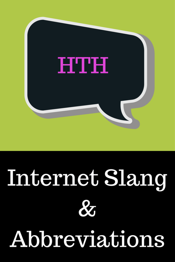 HTH (Hope This Helps) – Internet Slang And Abbreviations