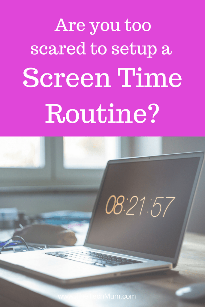 Screen Time Routines