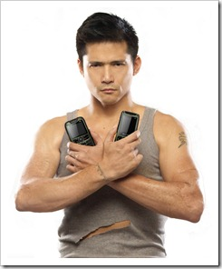 Photo--Robin Padilla as Cherry Mobile's Brand Ambassador