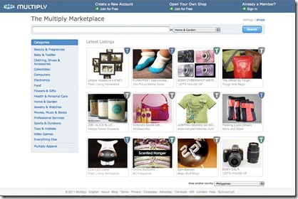 Multiply.com Marketplace