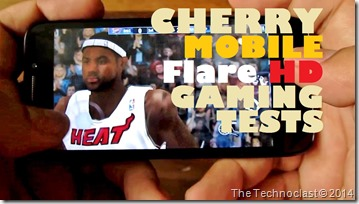 CherryMobileFlareHDGamingTests