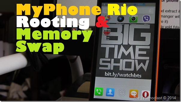 MyPhone Agua Rio Rooting & Memory Swap Guide (How To Root & Allow Install To SD)