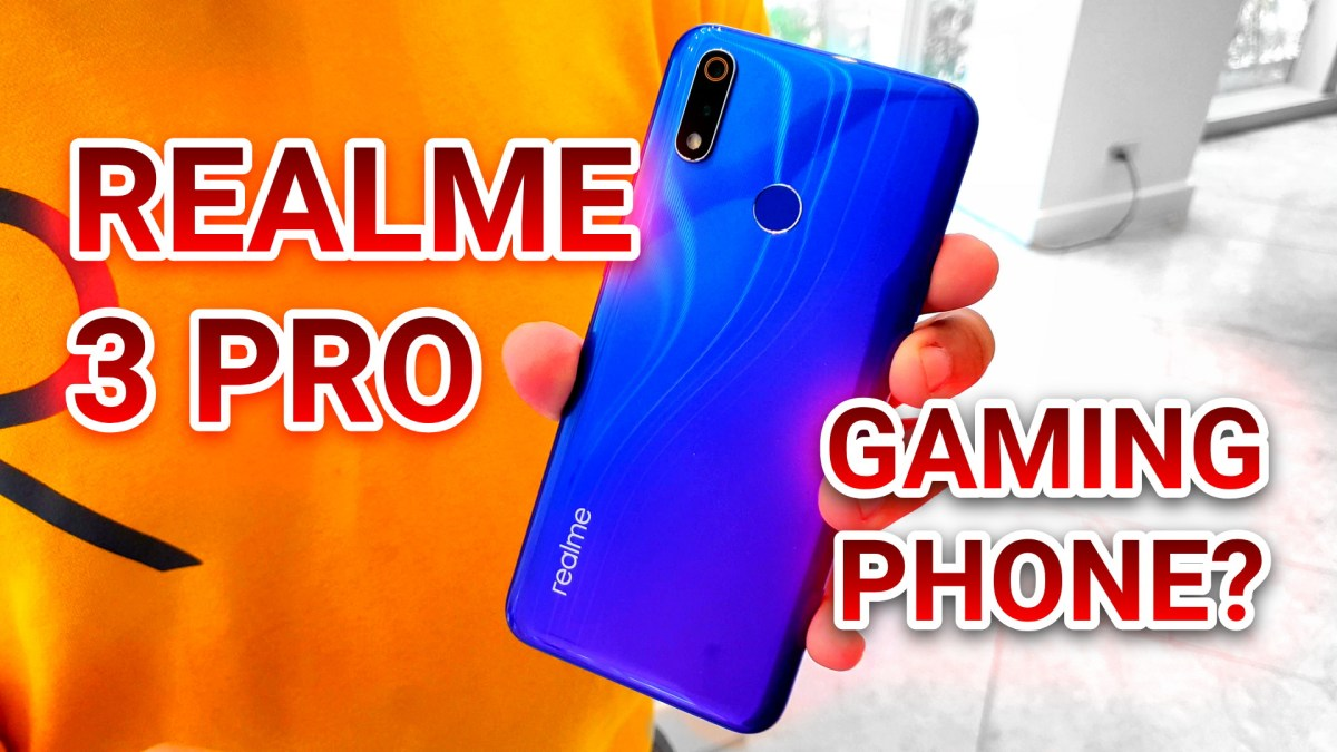 Realme 3 Pro Gaming Smartphone Launches In The Philippines