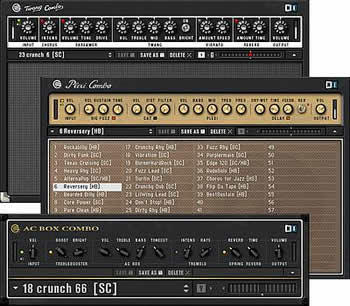Native Instruments Guitar Combos reviewed in The Technofile by MC Rebbe The Rapping Rabbi