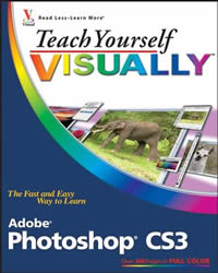 Teach Yourself Visually Adobe Photoshop CS3 reviewed in The Technofile by MC Rebbe The Rapping Rabbi