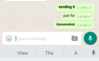 bold italic strike through in whatsapp