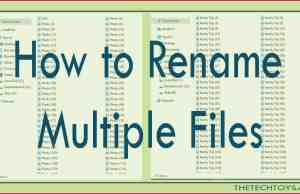 rename multiple files at once