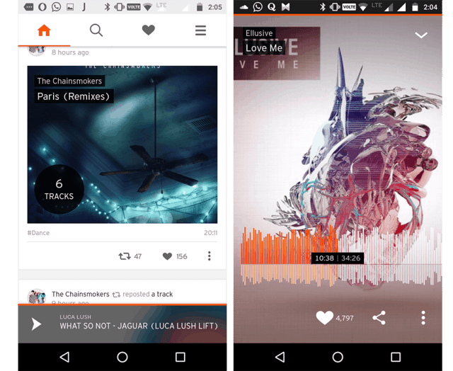 Best music app for iphone android