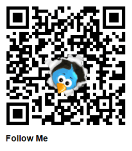 generate QR Code for twitter profile