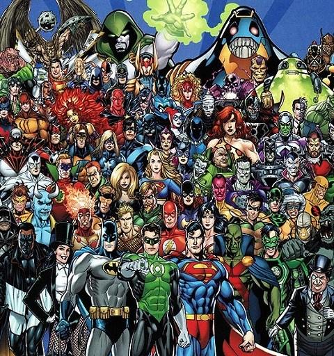 Top 10 DC Heros