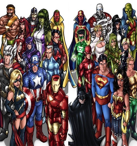 Marvel Vs. DC Part 1