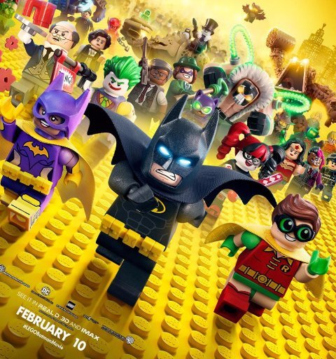 Reviewing The Lego Batman Movie