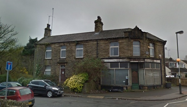 The former Post Office on Cleckheaton Road