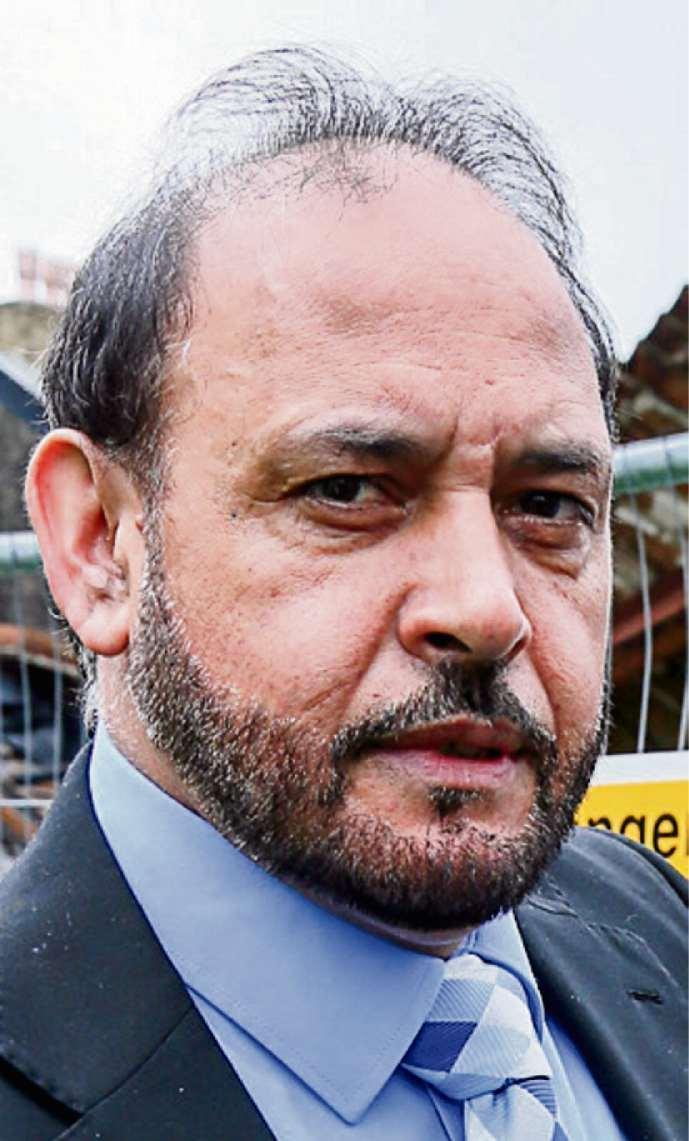Bradford Telegraph and Argus: NO COMMENT: Cllr Abid Hussain