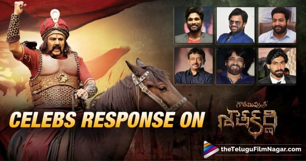 Tollywood Celebrities Response On Gauthamiputra Satakarni