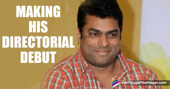 Amrutham Harsha Making His Directorial Debut