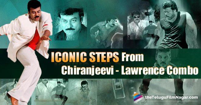 Chiranjeevi-Lawrence combination songs,Chiranjeevi-Lawrence combination , Chiranjeevi and Lawrence combo