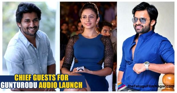 audio-launch CHIEF GUESTS, Gunturodu Audio Launch,