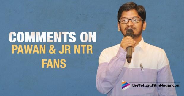 ananta sriram comments on pawan & ntr fans