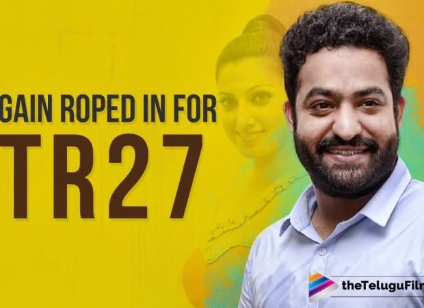 She Again Roped In For Jr NTR's Next