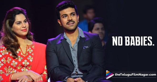 Confirmed Mr & Mrs. Charan Not Having A Baby For Now,Telugu Filmnagar,Telugu Movie Updates 2017,Charan and Upasana,Allu Arjun and Jr NTR,Mega fans