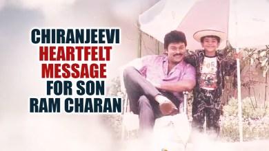 Megastar Chiranjeevi's Heartfelt Message For Son Ram Charan