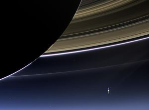 Earth from Cassini